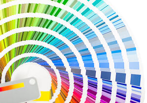 Color theory for office layout plans