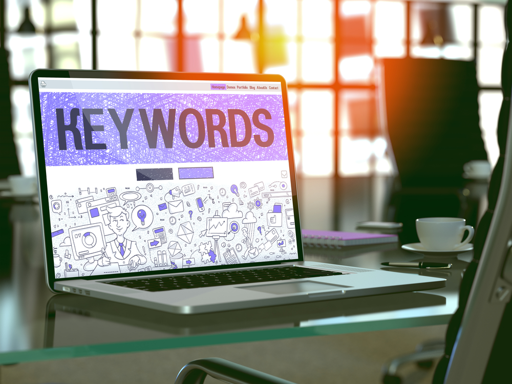 Keywords are the keystone to online marketing